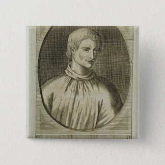 Giordano Bruno 15 Cm Square Badge