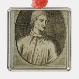 Giordano Bruno Christmas Ornament