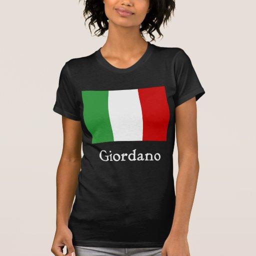Giordano Italian Flag Tee Shirts