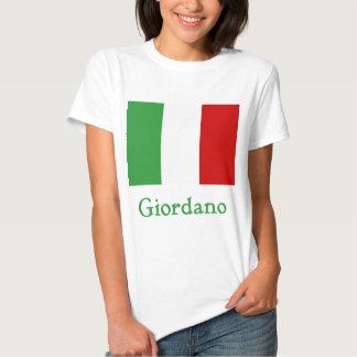 Giordano Italian Flag Tshirt