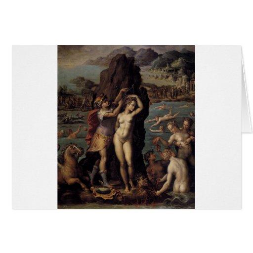 Giorgio Vasari: Perseus and Andromeda Greeting Card