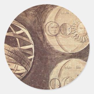 Giorgione: Globe, moon, sun (astronomy) Stickers