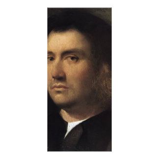 Giorgione- Portrait of a Man Terris Rack Card