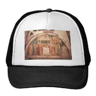 Giotto: Annunciation to Zacharias Trucker Hat