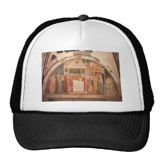 Giotto Annunciation to Zacharias Hats