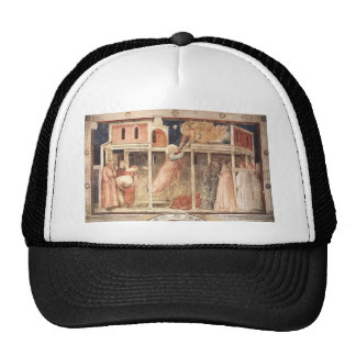 Giotto Ascension of the Evangelist Trucker Hat
