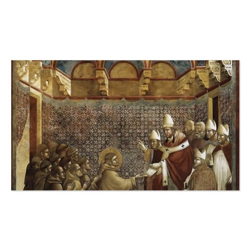 Giotto: Confirmation of the Rule Business Card