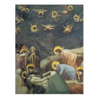 Giotto Lamentation Of Christ Postcard