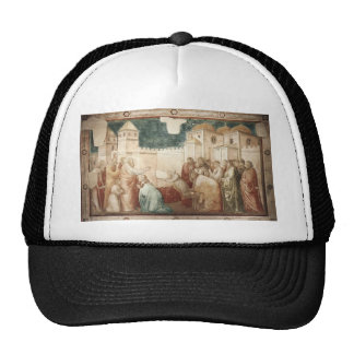 Giotto: Raising of Drusiana Trucker Hat