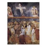 Giotto: St. Jerome Checking the Stigmata Postcards