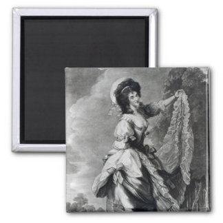 Giovanna Baccelli engraved by John Jones Magnets