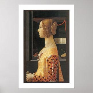 Giovanna degli Albizzi Tornabouni Poster