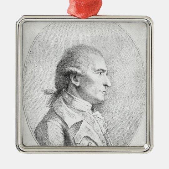 Giovanni Battista Cipriani, 1789 Silver-Colored Square Decoration