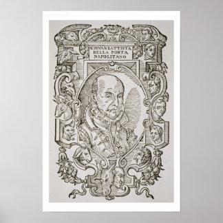 Giovanni Battista della Porta (1535-1615) from his Poster
