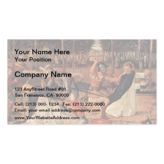 Giovanni Bellini-Assassination of St. Peter Martyr Business Card