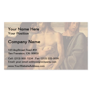 Giovanni Bellini- Dead Christ Supported by Madonna Business Card