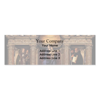 Giovanni Bellini- Frari Triptych Business Cards