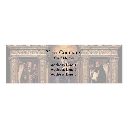 Giovanni Bellini- Frari Triptych Business Cards