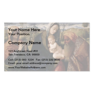 Giovanni Bellini- Holy Conversation Business Card Templates