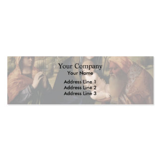 Giovanni Bellini- Holy Conversation Business Cards
