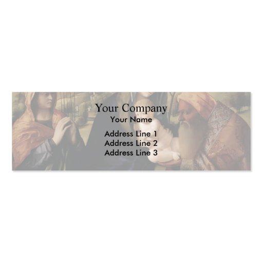 Giovanni Bellini- HolyConversation Business Cards