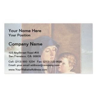Giovanni Bellini- Madonna and Child Business Cards