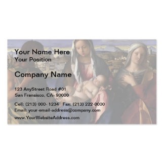 Giovanni Bellini- Madonna and Child with St.John Double-Sided Standard Business Cards (Pack Of 100)