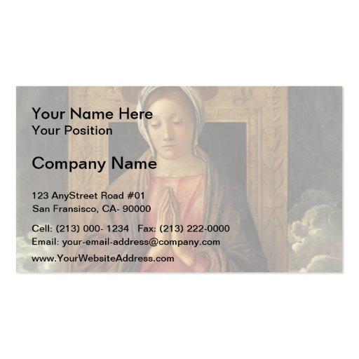 Giovanni Bellini-Madonna Cherishing the Child Business Cards