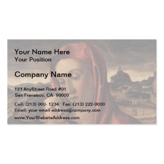 Giovanni Bellini-Madonna,Child Standing on Parapet Business Card
