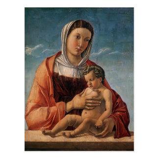 Giovanni Bellini- Madonna with the Child Postcard