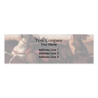 Giovanni Bellini- Pesaro Altarpiece (predella) Business Card Template