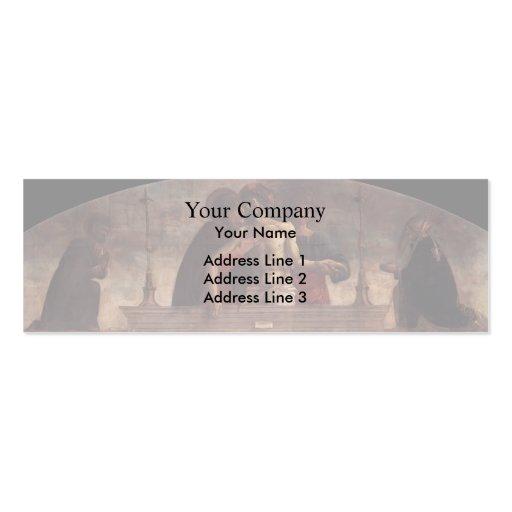 Giovanni Bellini- Pietà Business Card Templates