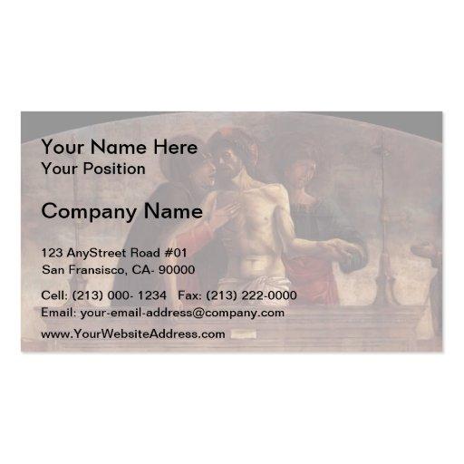 Giovanni Bellini- Pietà Business Cards