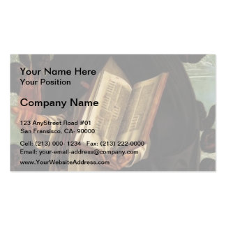Giovanni Bellini-Polyptych of San Vincenzo Ferreri Business Card Template