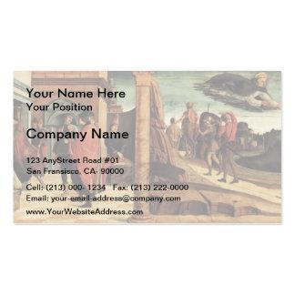 Giovanni Bellini-Polyptych of San Vincenzo Ferreri Business Card