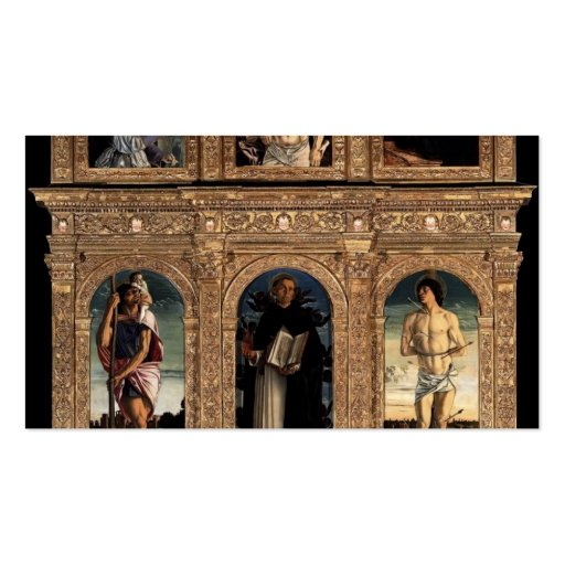 Giovanni Bellini-Polyptych of San Vincenzo Ferreri Business Cards