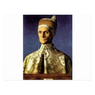Giovanni Bellini Portrait of Doge Leonardo Loredan Postcard