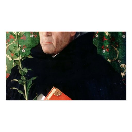 Giovanni Bellini- Portrait of Fra Theodoro Urbino Business Cards