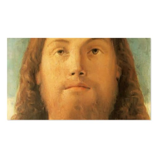 Giovanni Bellini- The Redeemer Business Card