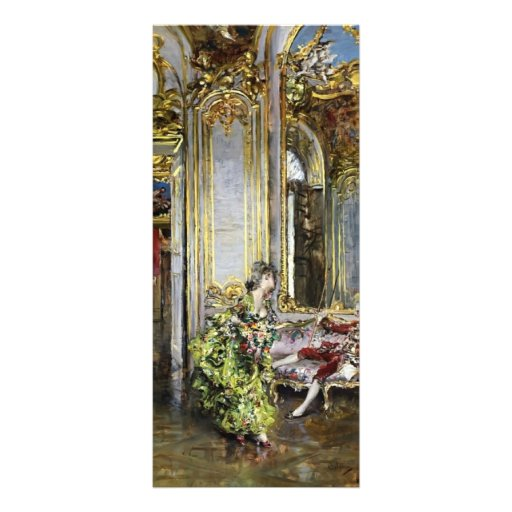 Giovanni Boldini- A Friend of the Marquis Rack Card