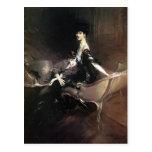 Giovanni Boldini- Consuelo, Duchess of Marlborough Post Card