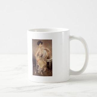 Giovanni Boldini-Portrait of Rita de Acosta Lydig Classic White Coffee Mug