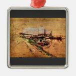 Giovanni Boldini - The Seine at Bougival Ornament