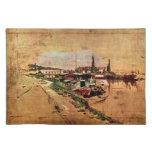 Giovanni Boldini - The Seine at Bougival Placemats