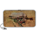 Giovanni Boldini - The Seine at Bougival iPhone Speakers