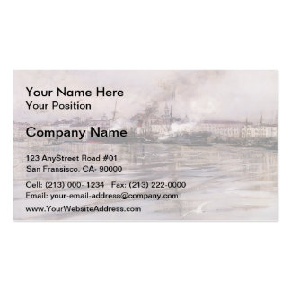 Giovanni Boldini- View of Venice Pack Of Standard Business Cards