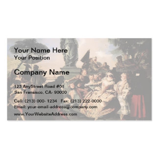 Giovanni Domenico Tiepolo- Minuet Pack Of Standard Business Cards