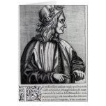 Giovanni Pico della Mirandola, from Greeting Card