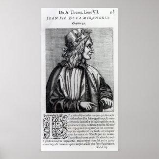 Giovanni Pico della Mirandola, from Poster