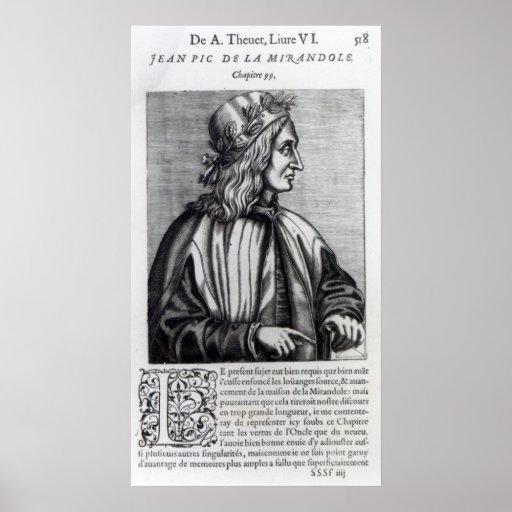 Giovanni Pico della Mirandola, from Posters